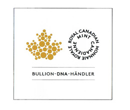 silberling.de ist autorisierter Bullion-DNA-Händler der Royal Canadian Mint.