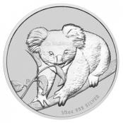 Koala 1/2 oz Silber 2010 - Motivseite
