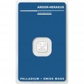 Palladiumbarren 1 Gramm - Blistercard 1 g Palladium
