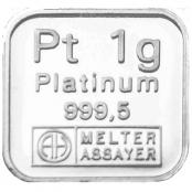 Platinbarren 1 Gramm LPPM zertifiziert