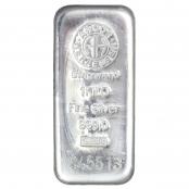 Silberbarren 1000 g - 1 Kilo Feinsilber 999 von Argor-Heraeus