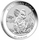 Koala 1 oz Silber 2017 - Motivseite
