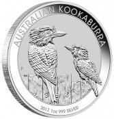 Kookaburra 1 oz Silber 2017 - Motivseite