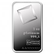 Platinbarren 1 oz Valcambi - Feinpalladiumbarren LBMA zertifiziert