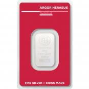 Silberbarren Argor-Heraeus 10g - LBMA zertifiziert von Argor-Heraeus