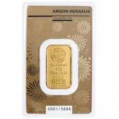 Goldbarren Argor-Heraeus 10 Gramm Maus - Blister