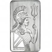Silberbarren Britannia 10 oz  - Motivseite