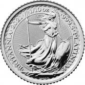 Britannia 1/10 oz Platin 2021 - Motivseite