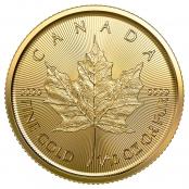 Maple Leaf 1/10 oz Gold 2020 - Motivseite