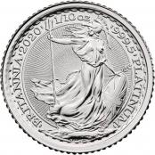 Britannia 1/10 oz Platin 2020 - Motivseite