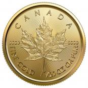 Maple Leaf 1/20 oz Gold 2020 - Motivseite