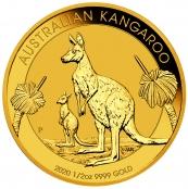 Kangaroo 1/2 oz Gold 2020 - Wertseite