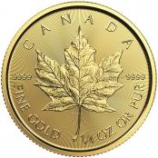 Maple Leaf 1/4 oz Gold - divers - Motivseite