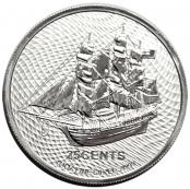 Cook Islands 1/4 oz Silber - Wertseite
