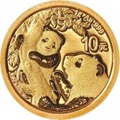 Panda 1 Gramm Gold 2021 - Panda Motiv