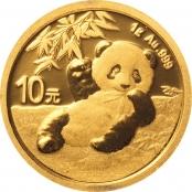 Panda 1 Gramm Gold 2020 - Panda Motiv