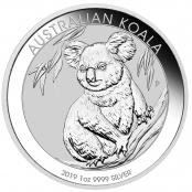Koala 1 oz Silber 2019 - Motivseite