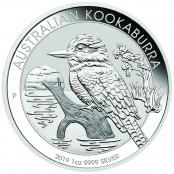Kookaburra 1 oz Silber 2019 - Motivseite