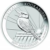 Kookaburra 1 oz Silber 2020 - Motivseite