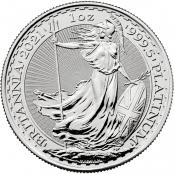 Britannia 1 oz Platin 2021 - Motivseite