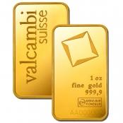 Goldbarren 1 Unze Valcambi