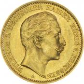 Deutsches Kaiserreich 20 Mark Gold
