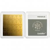 20 x 1 g Gold CombiBar Heraeus - LBMA zertifiziert