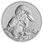 Kookaburra 2 oz Silber 2020 - Motivseite