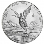 Libertad 2 oz Silber 2021 - Motivseite