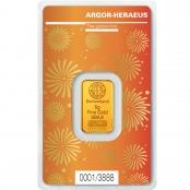Goldbarren Argor-Heraeus 5 Gramm Ochse