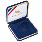 American Eagle Etui Gold 1 oz - Original Samtetui der United States Mint in der Farbe Blau