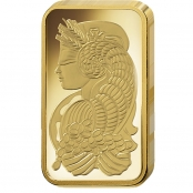 PAMP Suisse Goldbarren 1 Gramm Fortuna - Cornucopia Lady
