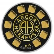 Goldseed 10 x 1 Gramm Argor-Heraeus - 1 Gramm Goldbarren zertifiziert nach dem LBMA Standard