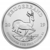 Krügerrand 1 oz Silber 2019 kaufen, die mit Abstand beliebteste Silbermünze in Europa