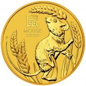 Lunar Maus 1/20 oz Gold 2020 -  Prägefrsiche Neuware
