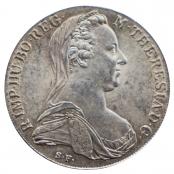 Maria Theresien Taler NP 1780 - Umlaufmünze - Vorderseite