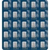 Multigram+25 Platin PAMP Suisse - Assay Card Fortunaseite