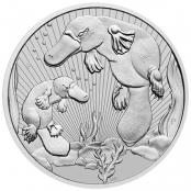Platypus 2 oz Silber 2021 - Motivseite