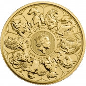 Queen's Beasts Completer Coin 1 oz Gold - Motivseite