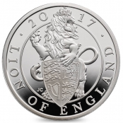 Queen's Beasts Lion 10 oz Silber 2017 Proof - Motivseite