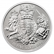 Royal Arms 1 oz Silber 2020 - Motivseite