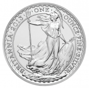 Britannia 1 oz Silber 2013 - Motivseite