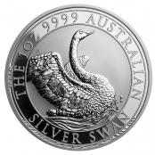 Schwan 1 oz Silber 2020 - Motivseite