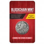 Wallstreetbets 1 oz Silver Antique Coin - Front
