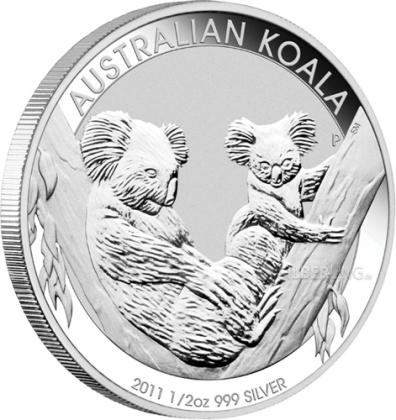 Koala 1/2 oz Silber 2011