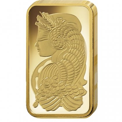 Gold Bar 1 oz Lady Fortuna PAMP