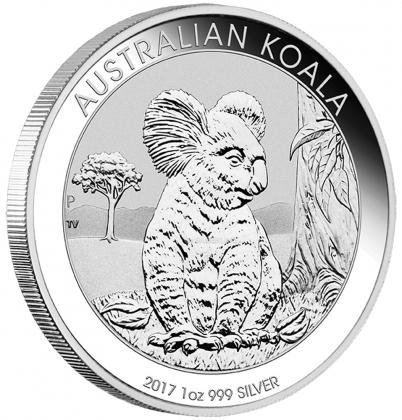 Koala 1 oz Silber 2017