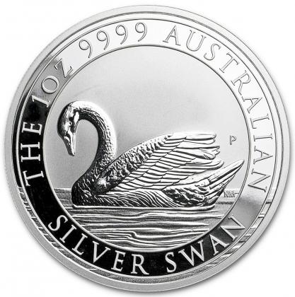 Schwan 1 oz Silber 2017