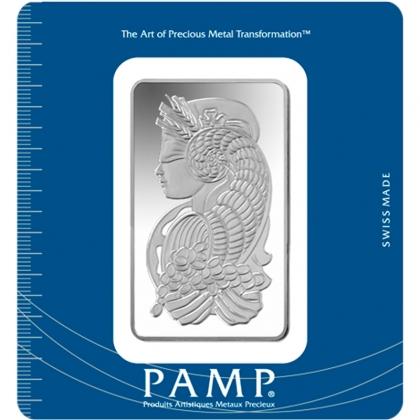 Silberbarren 100 g PAMP Suisse