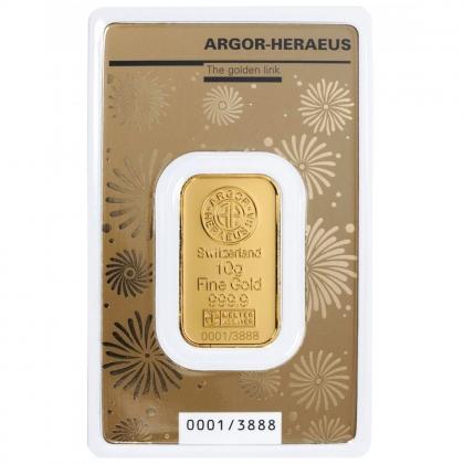 Goldbarren Argor-Heraeus 10 Gramm Maus